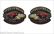 04 King Kerosene Set Speedfreak Sticker/Oldschool/Rockabilly/Retro/V8/US Car