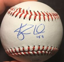 Kyle Lohse Autographed Signed CROLB Baseball Brewers