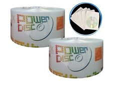 100 Power Disc 16X Blank DVD-R Disc + 100 Paper Sleeve + Free Expedited Shipping