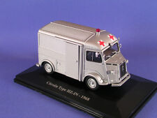 CITROEN TYPE H HY ELIGOR AU 1/43 HZ-IN - 1968 ambulance militaire  N°20
