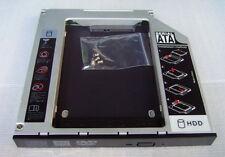 SATA 2nd Hard Drive HDD Caddy for HP Compaq Presario CQ56 CQ57 swap AD-7711H dvd