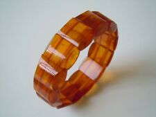 Press-Bernstein Armband Honig modifiziert modified 23,9 g Amber