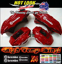 Nissan 350z Brembo Brake Caliper Sticker Decal Kit Hi-Temp Hi-Gloss Vinyl