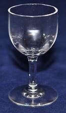 """Baccarat French Crystal MONTAIGNE OPTIC Cordial Goblet Glass 3"""" Tall"""