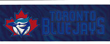 Toronto Blue Jays Bumper Sticker MLB Baseball Logo Rare 2002 Tailgate Sticker