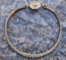 Antique Old used Nepali Tribal Necklace, Nepal