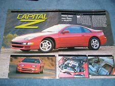 "1990 Nissan 300ZX Turbo Vintage Info Article ""Capital Z"""