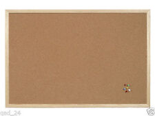 Cork Board 400 X 600mm Pin Plan Notes Classroom Class Office Work Home Notice