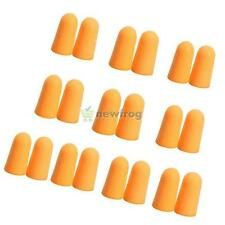 SN9F 10Pairs Soft Foam Ear Plugs Tapered Travel Sleep Noise Prevention Earplugs