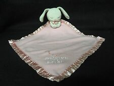 bright inspirations PINK SECURITY Bunny BLANKET Thank Heaven for Little Girls
