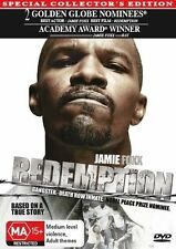 Redemption - Collectors Edition (DVD) True Story [Region 4] NEW/SEALED Gangster