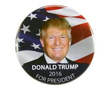"2016 DONALD TRUMP for PRESIDENT 2.25"" CAMPAIGN BUTTON, dtf"