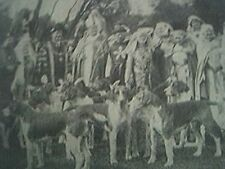 news item 1932 leicester pageant rehearsal quorn hounds