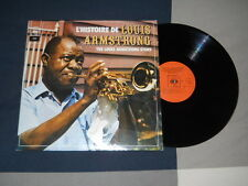 RARE DBL LP / 33T THE LOUIS ARMSTRONG STORY CBS HOLLAND 1973 NM