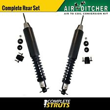 00-05 Buick LeSabre Rear Complete Air to Shocks & Springs Conversion Kit Pair x2