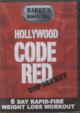 BARRY'S BOOTCAMP: Hollywood Code Red 6 Day Weight Loss DVD New SEALED