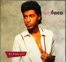 "BABYFACE my kinda girl 656494 6 uk epic 1990 12"" PS EX/EX"