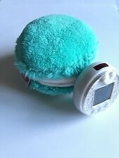 New! Tamagotchi P's iD L 4U M!x Blue Plush Macaron Pouch/Carrying Case