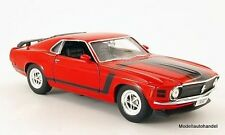 Ford Mustang Boss 302 1970 rot - 1:24 WELLY