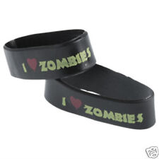 12 I Heart Love Zombie Rubber Bracelets Kid Party Goody Loot Bag Favor Supply