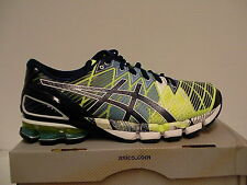 Asics gel kinsei 5 running shoes flash yellow/blue size 10.5 us men new