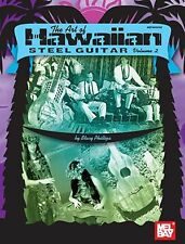 The Art Of Hawaiian Steel Guitar Learn to Play Music Book VOL 2 & Online Audio