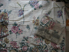 NEW KING SIZE DUVET COVER TWO PILLOWCASES & DOUBLE VALANCED SHEET FLORAL CHELSEA