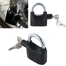 Motor Bike Bicycle Siren Alarm Lock Anti-Theft Security Padlock New Selling