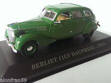 diecast car 1:43 BERLIET 11 CV DAUPHINE 1939 -  IXO-ALTAYA DE - CCC009