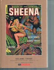 Sheena Queen of the Jungle Golden Age Vol 3 HC  PS Artbooks 2014