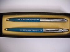 Parker Pen & Pencil Set Sun Petroleum Products Co. New in Box