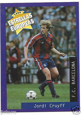 Rare '96 Panini Holland's EUROPEAN SUPER STAR Jordi Cruyff with FC Barcelona
