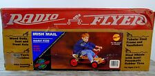 VTG Radio Flyer 230 Irish Mail Row Cart Wood Metal Steerable Rowing Go Cart NOS