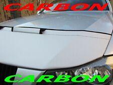Silber Carbon BRA SEAT Leon 1P Bj. 05-12 Steinschlagschutz