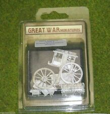 GREAT WAR MINIATURES British Ammunition Wagon GUN3 28mm