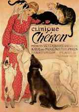 A4 Photo Steinlen Theophile 1859 1923 Clinique Cheron 1905 Print Poster