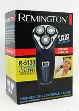 Remington R-5130 Pivot Flex Titanium Mens Rotary Beard Shaver (Factory Serv
