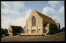 WOODMONT BAPTIST CHURCH NASHVILLE TENNESSEE VINTAGE CHROME POSTCARD COND: VG