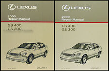 2000 Lexus GS 300 and 400 Shop Manual Set NEW GS300 GS400 Repair Service OEM