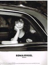 Publicité Advertising 1990 Les Vetements pour enfants Sonia Rykiel par Issermann