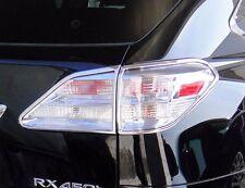 FITS LEXUS RX350 2010-2012 ABS CHROME TAIL LIGHT BEZELS TRIM 4PCS