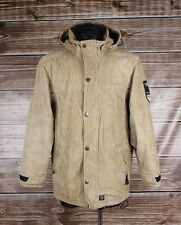 GAASTRA Hooded Corduroy PG w Men Jacket Coat Size M