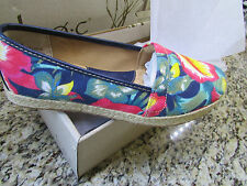 NEW BORN B.O.C FLATS LOAFERS SHOES WOMENS 11 franki Hawaiian espadrille FREE SH