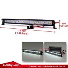 RC 1/10 LED Aluminum Light Bar 6V ~ 7.4V JR Plug 10 lights F AXIAL RC4WD Crawler