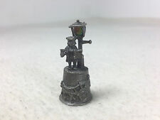 English England Pewter Thimble Cries of london Town crier Bellman