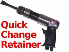 190mm Air Hammer w/ Quick Change Chisel Retainer + Comfort Grip pneumatic tool