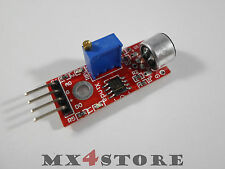 Sound ruido sensor lm393 a-out D-out micrófono detection geräuschsenso Arduino