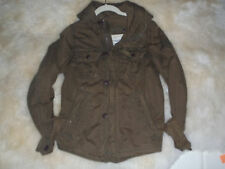 Boys Abercrombie  A&F SENTINEL Jacket Coat Hooded L EUC