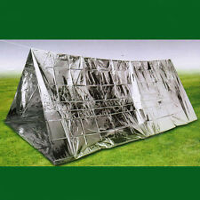 Outdoor Emergency Tent Reflective Film First Aid Wigwam Camping Trekking Tool