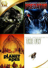 Alien/Predator/Planet of the Apes/The Fly (DVD, 2015, 4-Disc Set) NEW